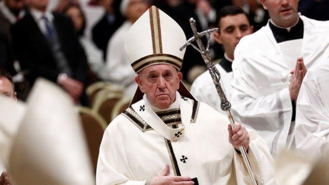 Папа римський закликав усіх християн світу одночасно прочитати «Отче наш»: визначені дата і час