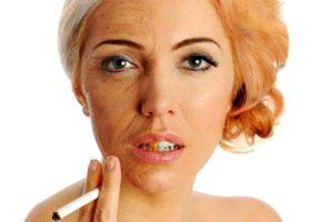 лицо-курящей-женщины